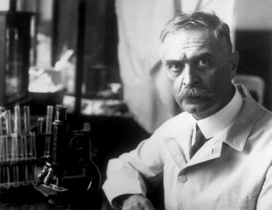 Karl Landsteiner discovers the ABO system